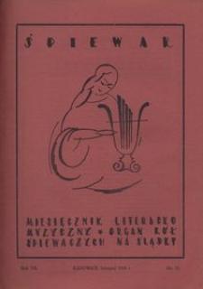 Śpiewak, 1926, R. 7, nr 11