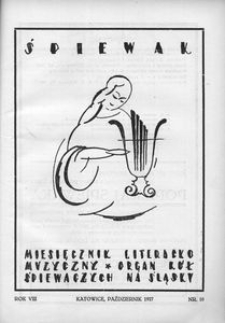 Śpiewak, 1927, R. 8, nr 10