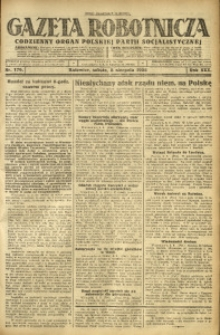 Gazeta Robotnicza, 1925, R. 30, nr 179