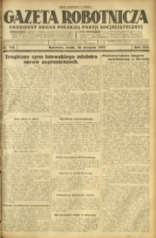 Gazeta Robotnicza, 1925, R. 30, nr 193