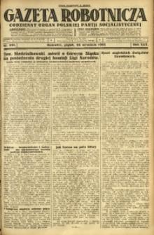Gazeta Robotnicza, 1925, R. 30, nr 219