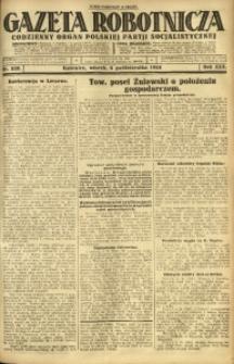 Gazeta Robotnicza, 1925, R. 30, nr 228