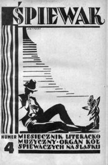 Śpiewak, 1928, R. 9, nr 4