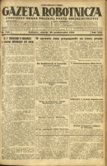 Gazeta Robotnicza, 1925, R. 30, nr 240