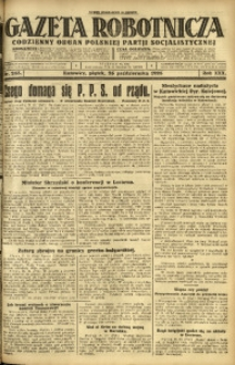Gazeta Robotnicza, 1925, R. 30, nr 243