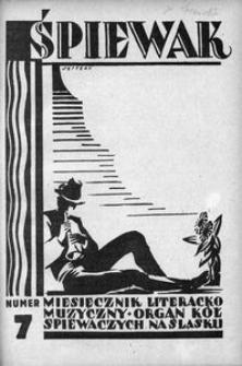Śpiewak, 1928, R. 9, nr 7