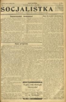 Socjalistka, 1925, R. 1, nr 1