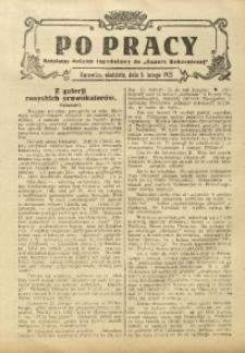 Po Pracy, 8 lutego 1925