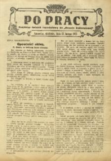 Po Pracy, 15 lutego 1925