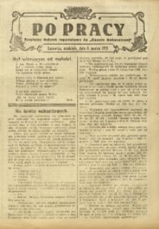 Po Pracy, 8 marca 1925