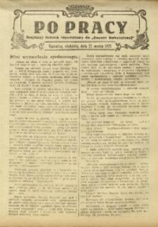 Po Pracy, 22 marca 1925