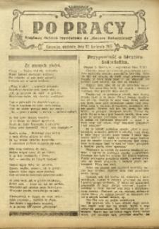 Po Pracy, 12 kwietnia 1925