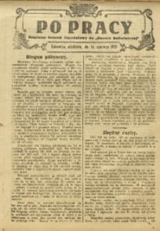 Po Pracy, 14 czerwca 1925