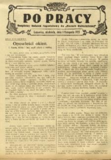 Po Pracy, 1 listopada 1925