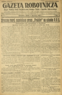 Gazeta Robotnicza, 1929, R. 34, nr 4