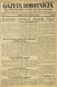 Gazeta Robotnicza, 1929, R. 34, nr 13