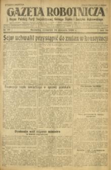Gazeta Robotnicza, 1929, R. 34, nr 20