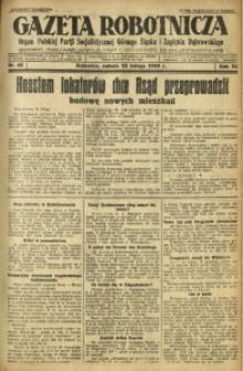 Gazeta Robotnicza, 1929, R. 34, nr 45