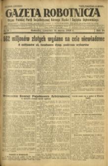 Gazeta Robotnicza, 1929, R. 34, nr 61