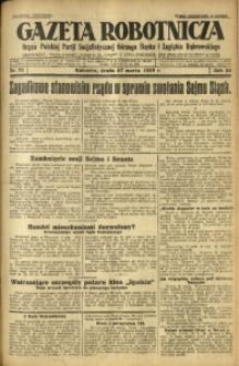 Gazeta Robotnicza, 1929, R. 34, nr 72