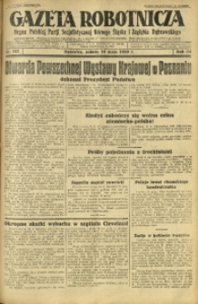Gazeta Robotnicza, 1929, R. 34, nr 113