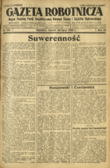 Gazeta Robotnicza, 1929, R. 34, nr 173