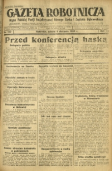 Gazeta Robotnicza, 1929, R. 34, nr 177