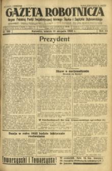 Gazeta Robotnicza, 1929, R. 34, nr 185