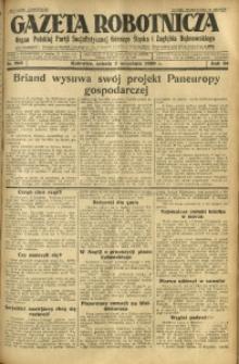 Gazeta Robotnicza, 1929, R. 34, nr 206