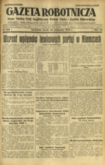 Gazeta Robotnicza, 1929, R. 34, nr 268