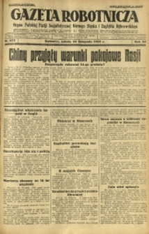 Gazeta Robotnicza, 1929, R. 34, nr 277