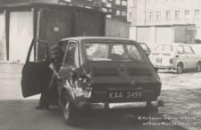 Katowice, Jerzy Kukuczka w rozbitym samochochodzie