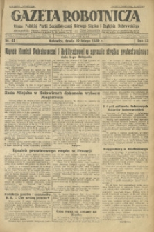Gazeta Robotnicza, 1930, R. 35, nr 41