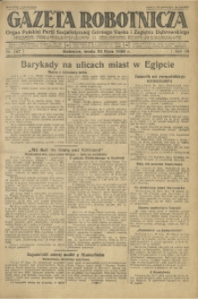 Gazeta Robotnicza, 1930, R. 35, nr 167