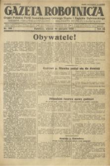Gazeta Robotnicza, 1930, R. 35, nr 195