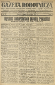 Gazeta Robotnicza, 1931, R. 36, nr 6
