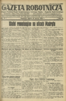 Gazeta Robotnicza, 1931, R. 36, nr 71