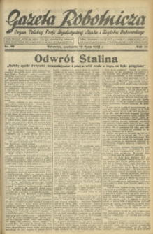 Gazeta Robotnicza, 1931, R. 36, nr 99