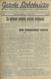 Gazeta Robotnicza, 1931, R. 36, nr 107