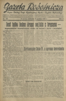 Gazeta Robotnicza, 1931, R. 36, nr 121