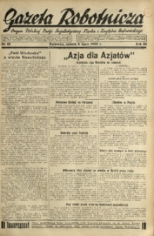 Gazeta Robotnicza, 1933, R. 38, nr 81
