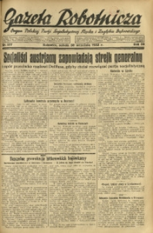 Gazeta Robotnicza, 1933, R. 38, nr 117