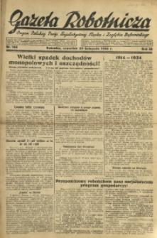 Gazeta Robotnicza, 1933, R. 38, nr 143
