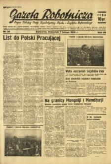 Gazeta Robotnicza, 1935, R. 40, nr 38