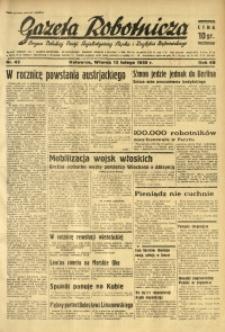 Gazeta Robotnicza, 1935, R. 40, nr 43
