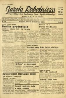 Gazeta Robotnicza, 1935, R. 40, nr 110