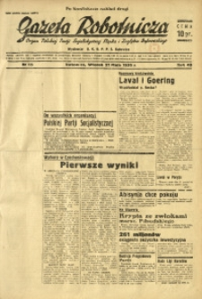 Gazeta Robotnicza, 1935, R. 40, nr 135