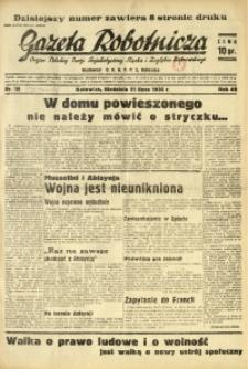 Gazeta Robotnicza, 1935, R. 40, nr 189