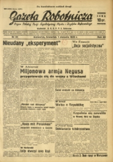 Gazeta Robotnicza, 1935, R. 40, nr 202