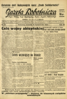 Gazeta Robotnicza, 1935, R. 40, nr 270